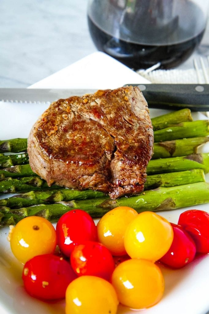 Pan Seared Oven Roasted Steak Recipe Finished
