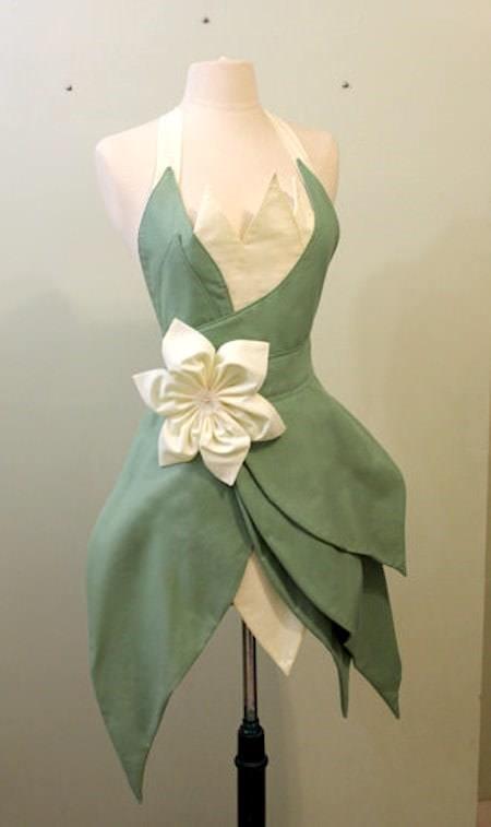 princess tiana apron