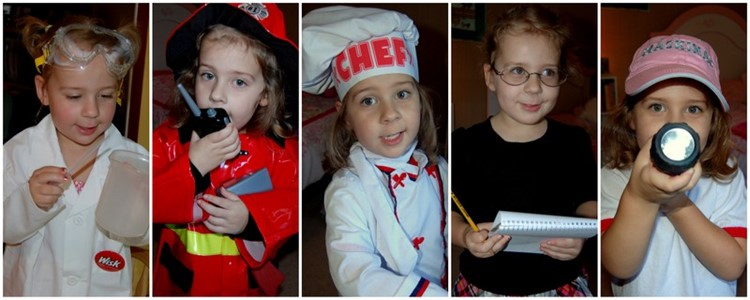 Encourage Imagination: Playing Dress Up via MomAdvice.com