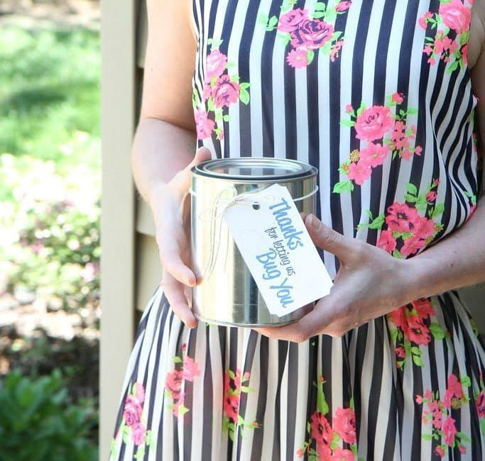 Slow Cooker Citronella candles printable tag