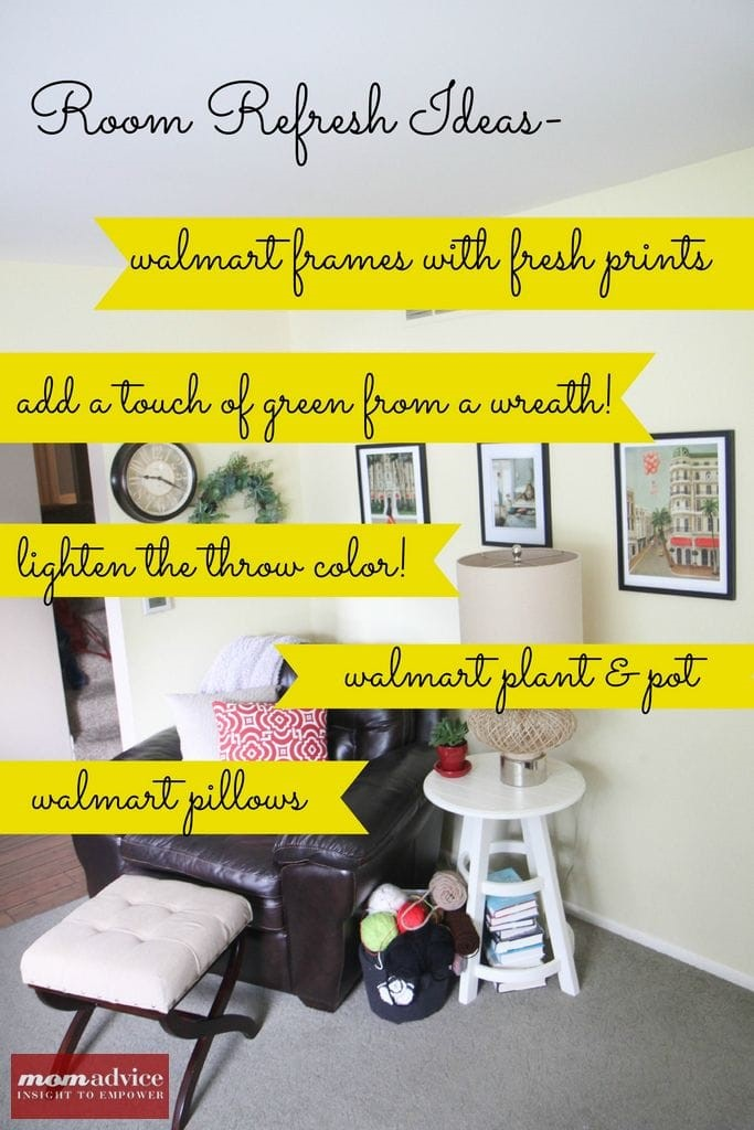 Transforming Corners In Your Home from MomAdvice.com.