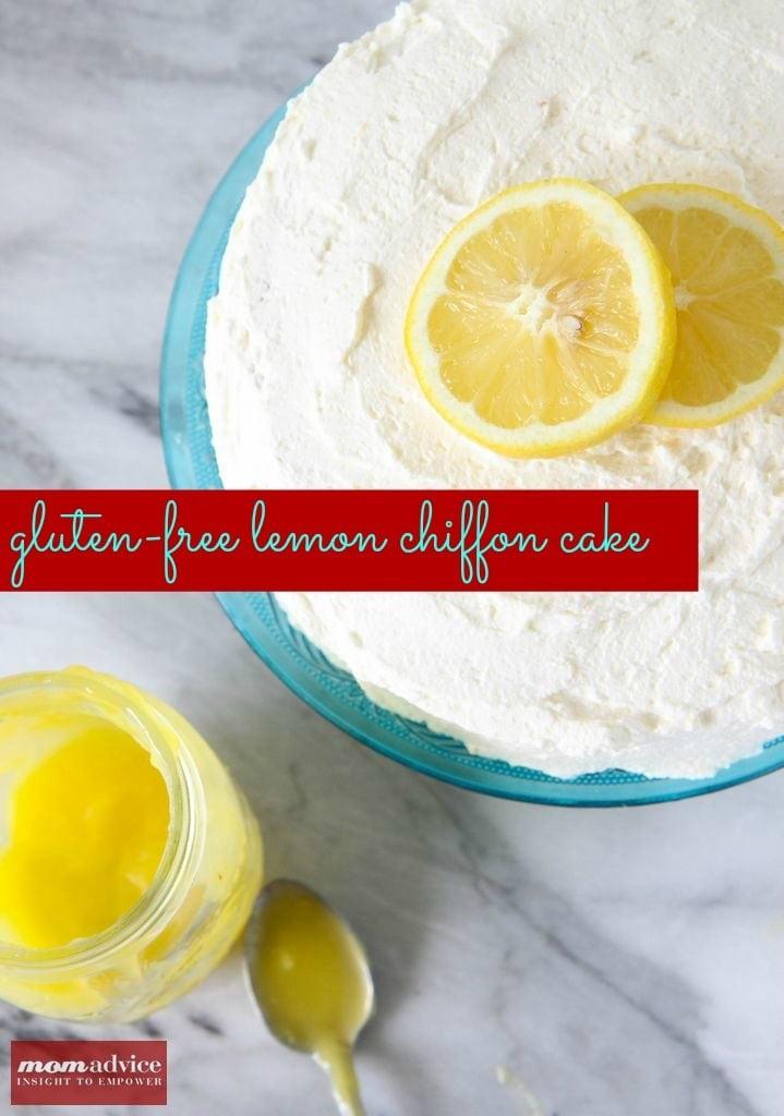 Gluten-Free Lemon Chiffon Cake