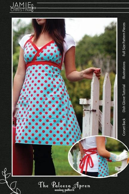 Palooza apron pattern via Etsy