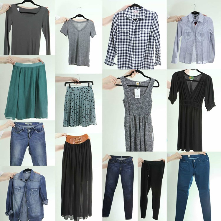 Fall 2014 Fashion Capsule Wardrobe Project