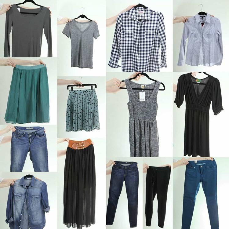 Fall 2014 Fashion Capsule Wardrobe Project