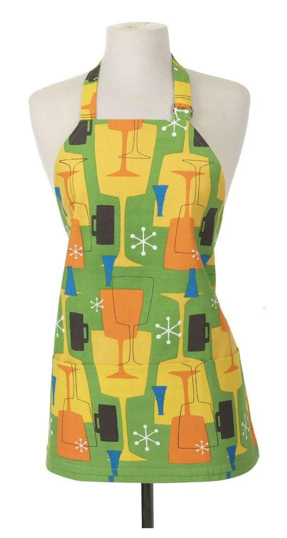 Retro drink apron via Etsy