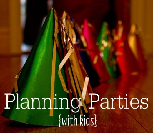 5 Tips for Party Planning with Kids