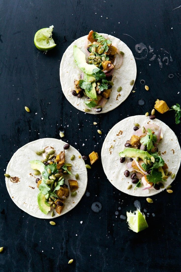 Pumpkin Spice Tacos via Camille Styles
