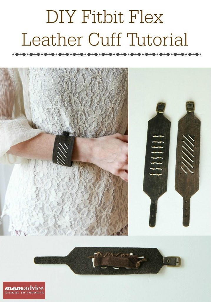 DIY Fitbit Bracelet Tutorial from MomAdvice.com.
