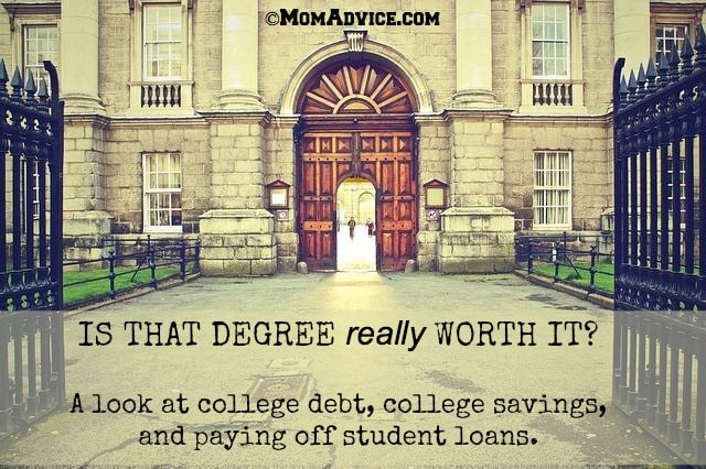 Is that degree really worth it