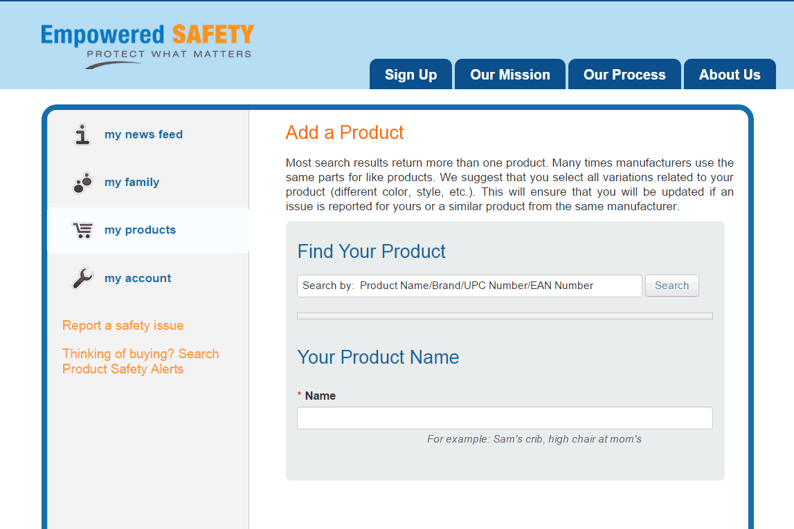 How to Keep Your Family Safe by Monitoring Product Safety Recalls from MomAdvice.com.