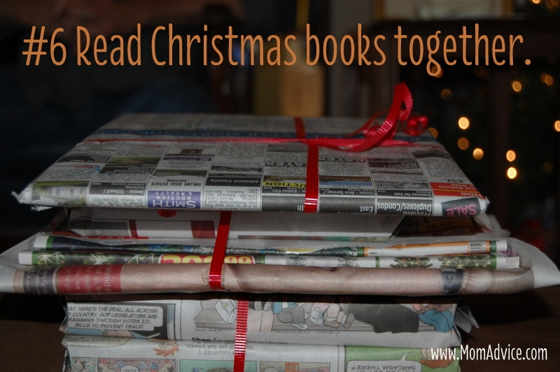 Read Christmas books together