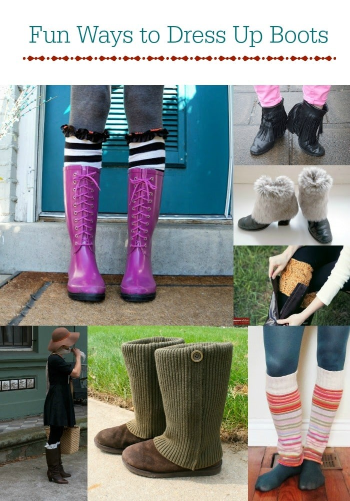 Fun New Ways to Dress Up Boots For Fall