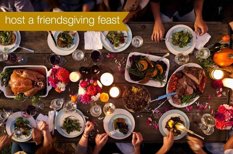 host a friendsgiving feast MomAdvice.com