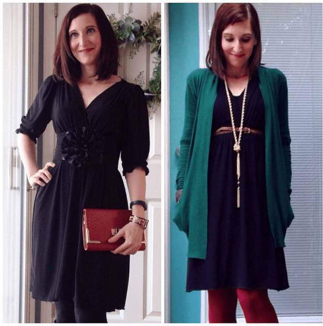 LBD Styling 2 Ways