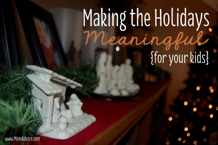 Making the Holidays Meaningful