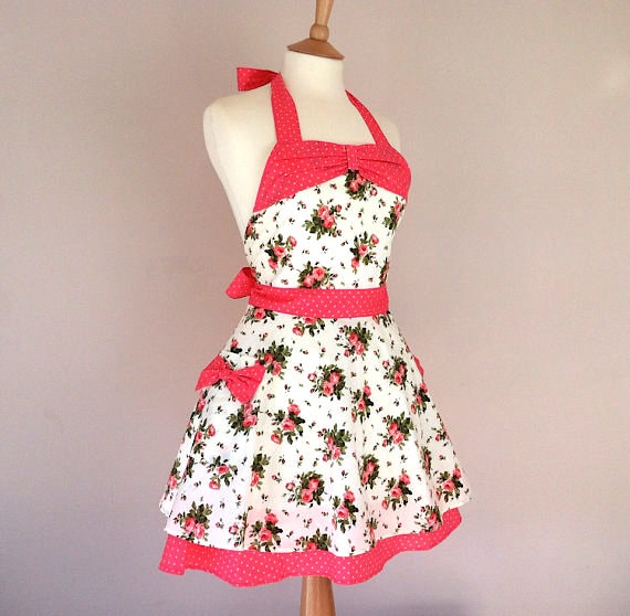 Retro Apron via Etsy