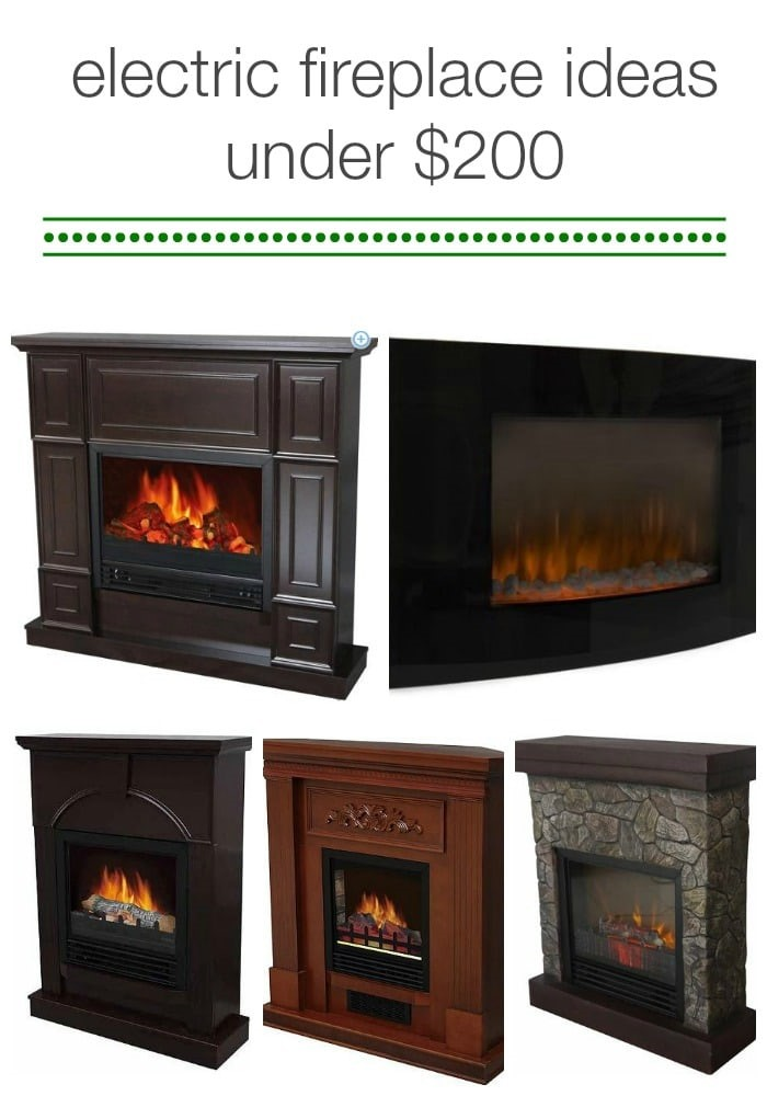 electric fireplaces ideas under 200