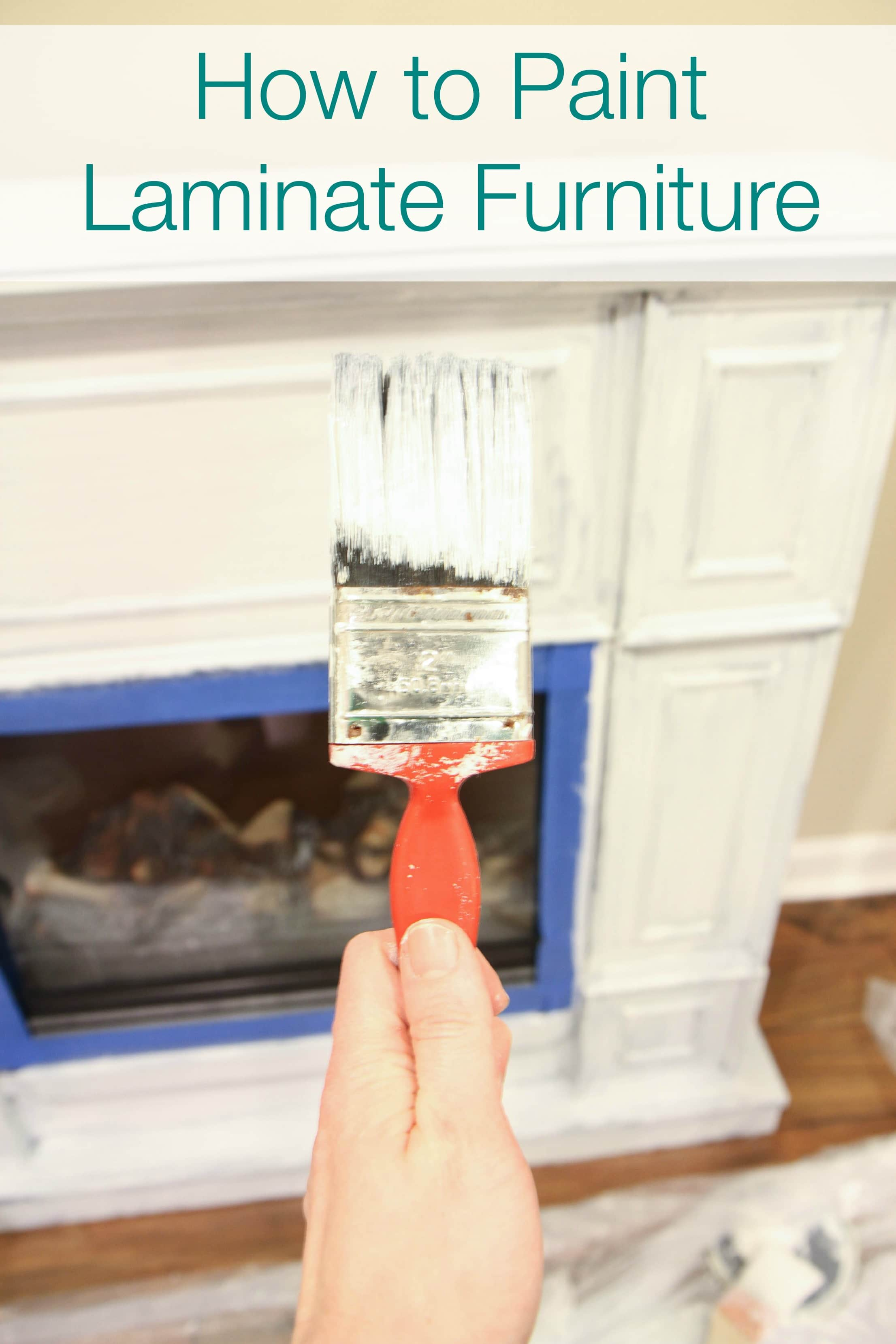 How to Paint Laminate Furniture from MomAdvice.com
