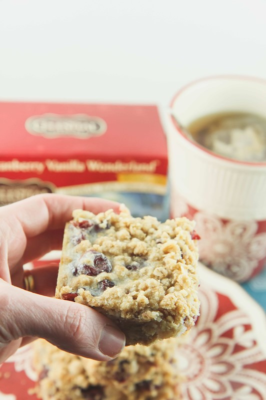 Eating Well During the Holidays: Light Cranberry Bar Recipe