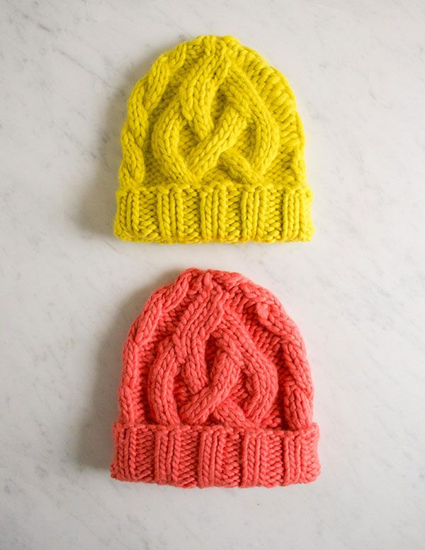 Cable Hat via Purl Bee