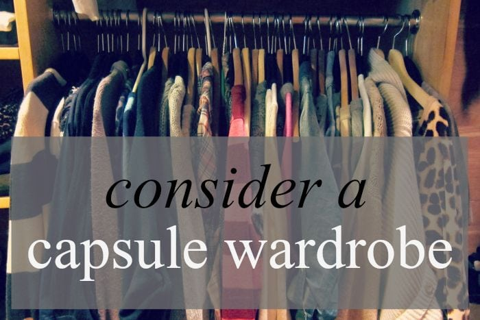 Capsule Wardrobe via Hollywood Housewife