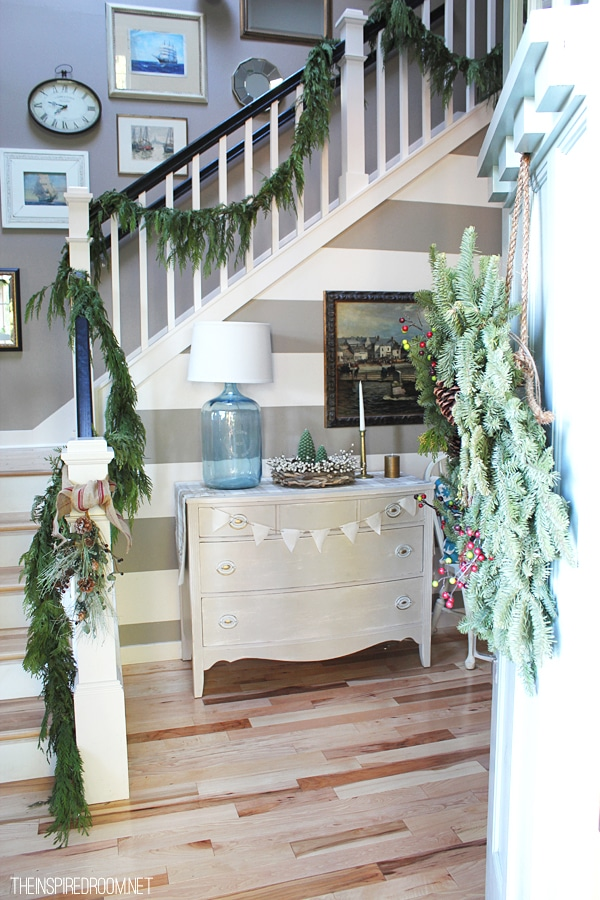 Inspired Stairways via The Inspired Room