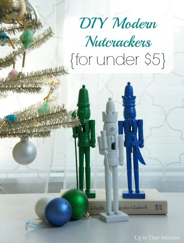 Modern Nutcrackers via Up To Date Interiors