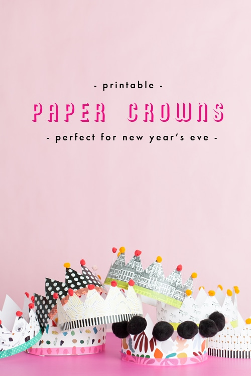 Printable Paper Crowns via The House That Lars Built