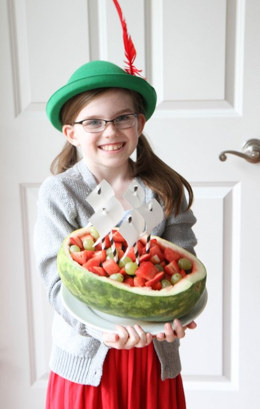 How to Make a Watermelon Pirate Ship