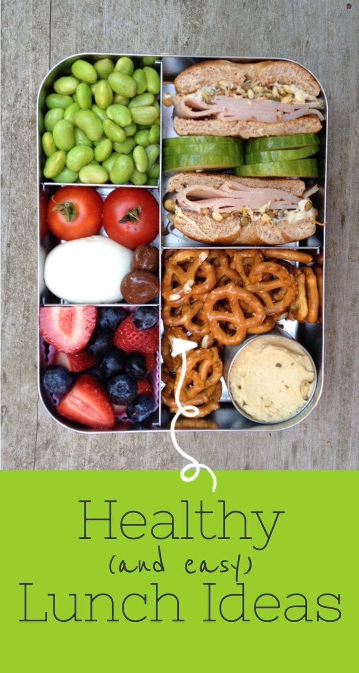 Healthy Lunch Ideas via Back to Her Roots