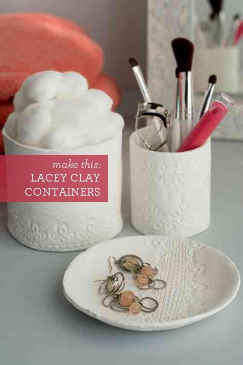 Lace Containers via Design Mom