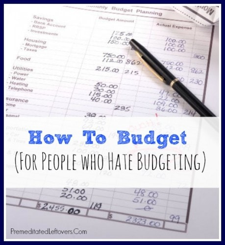 How-to-Budget-For-People-That-Hate-Budgeting via Premeditated Leftovers
