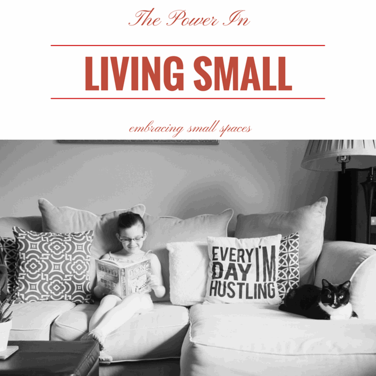 The Power of Living Small from MomAdvice.com