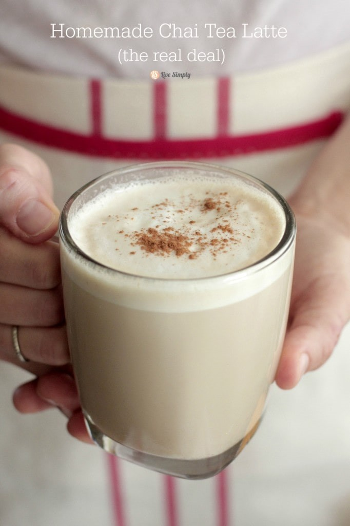 homemade-chai-tea-latte via Live Simply