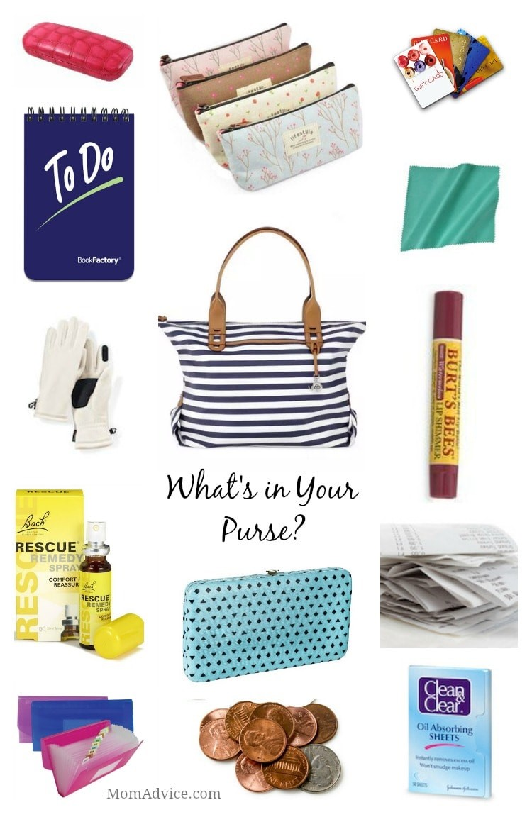 m challenge What's in Your Purse