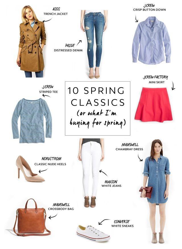 Spring Wardrobe Classics