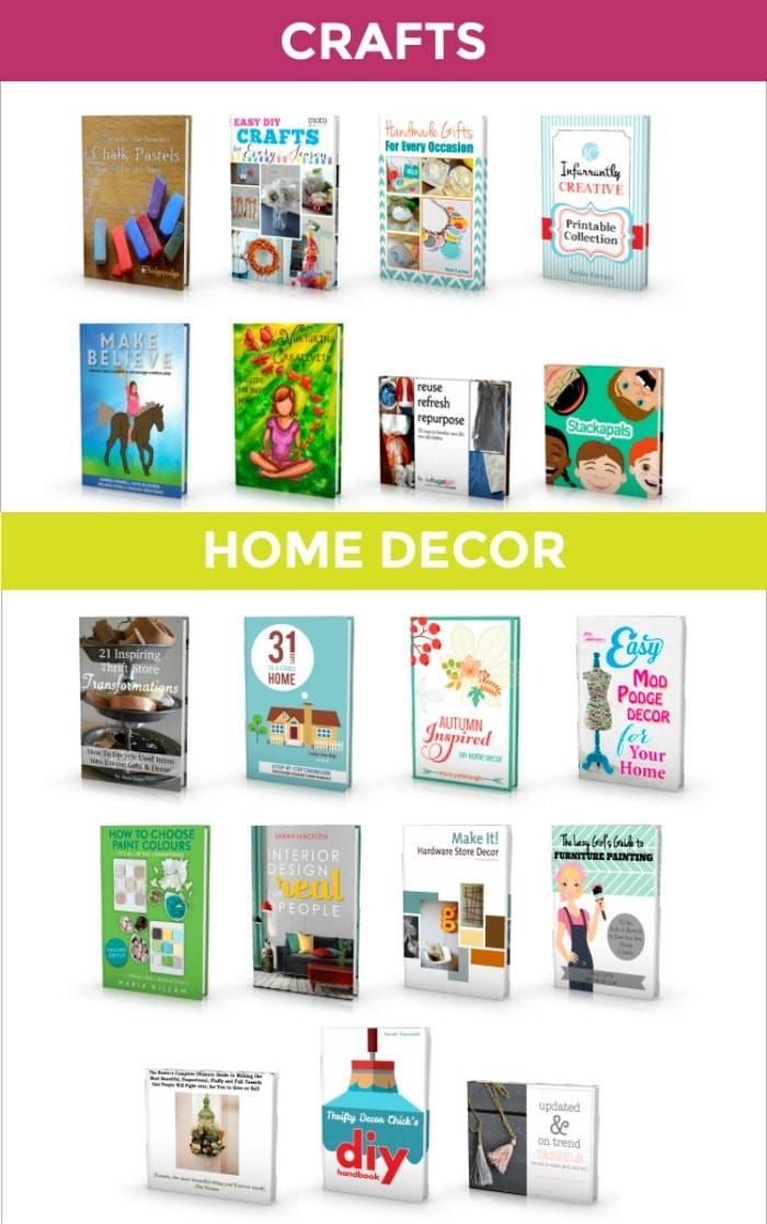 Crafts_HomeDecor_DIY Bundle