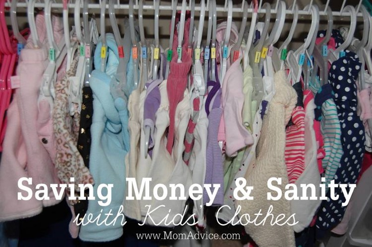 Saving Money & Sanity with Kids' Clothes