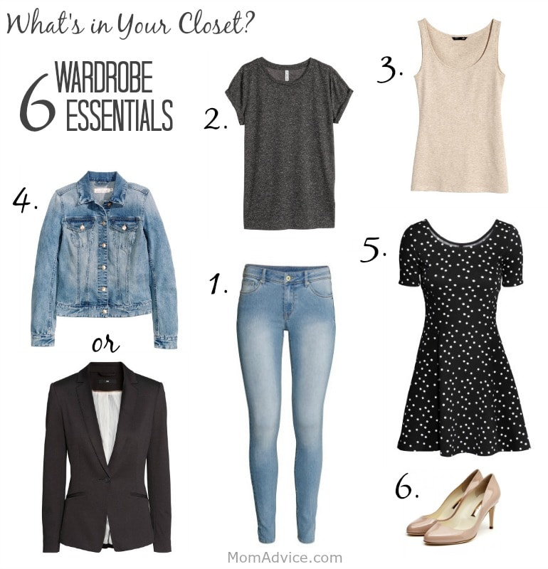 Six Wardrobe Essentials