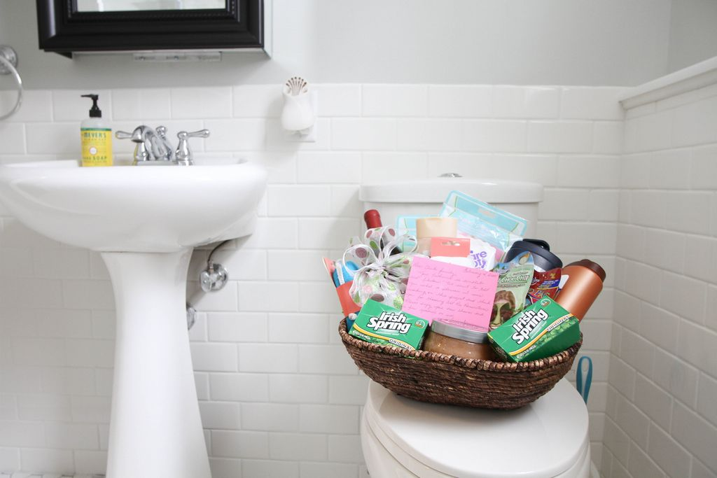 Bathroom Makeover Reveal from MomAdvice.com.