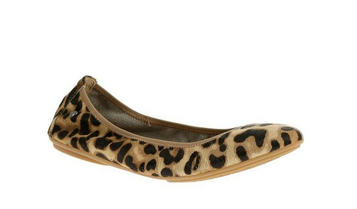 Hush Puppies Leopard Flats