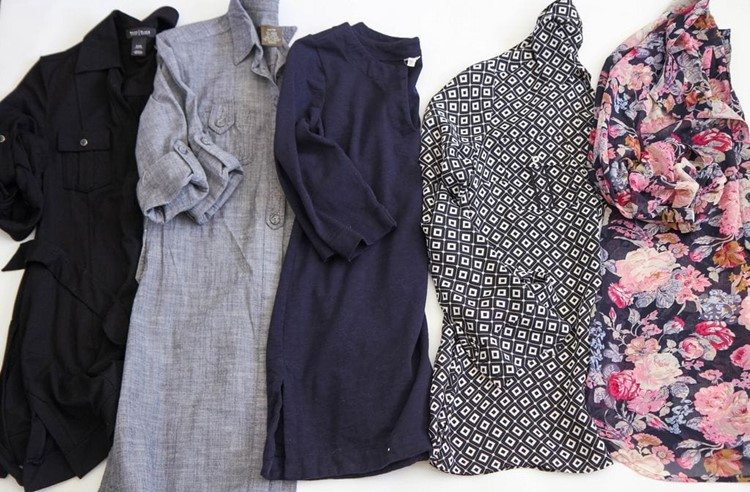 Spring 2015 Fashion Capsule Wardrobe Project from MomAdvice.com