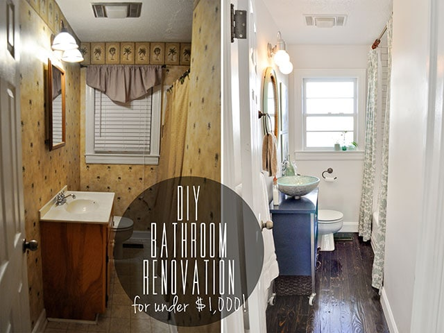 DIYBudgetBathReno-via Beautiful Matters