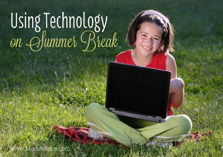 Great ideas, advice & tips on using technology during the summertime with your family from Mary Carver via MomAdvice.com