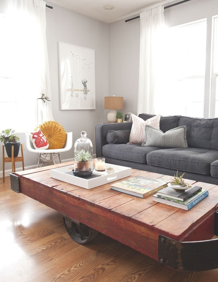 Home Tour via Design Sponge