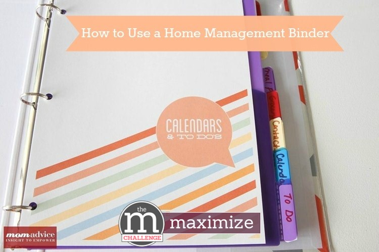 How To Use a Home Management Binder