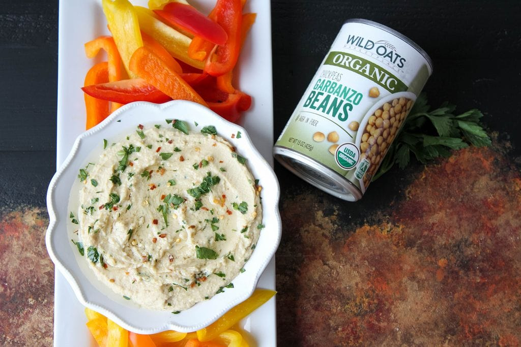 Roasted Garlic Hummus from MomAdvice.com