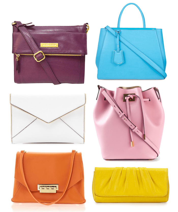 Spring Trends 2015-Pop of Color