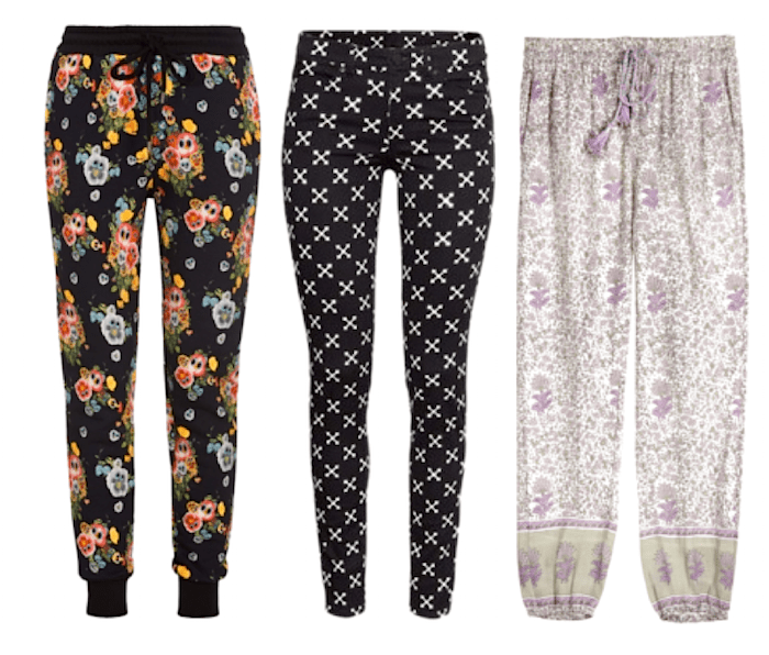 Spring Trends 2015-Printed Pants